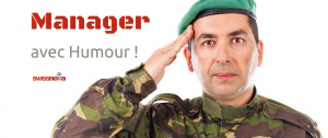 Manager avec humour en entreprise - un article de Régis Gobe pour Swissnova - formations en entreprise sur le management